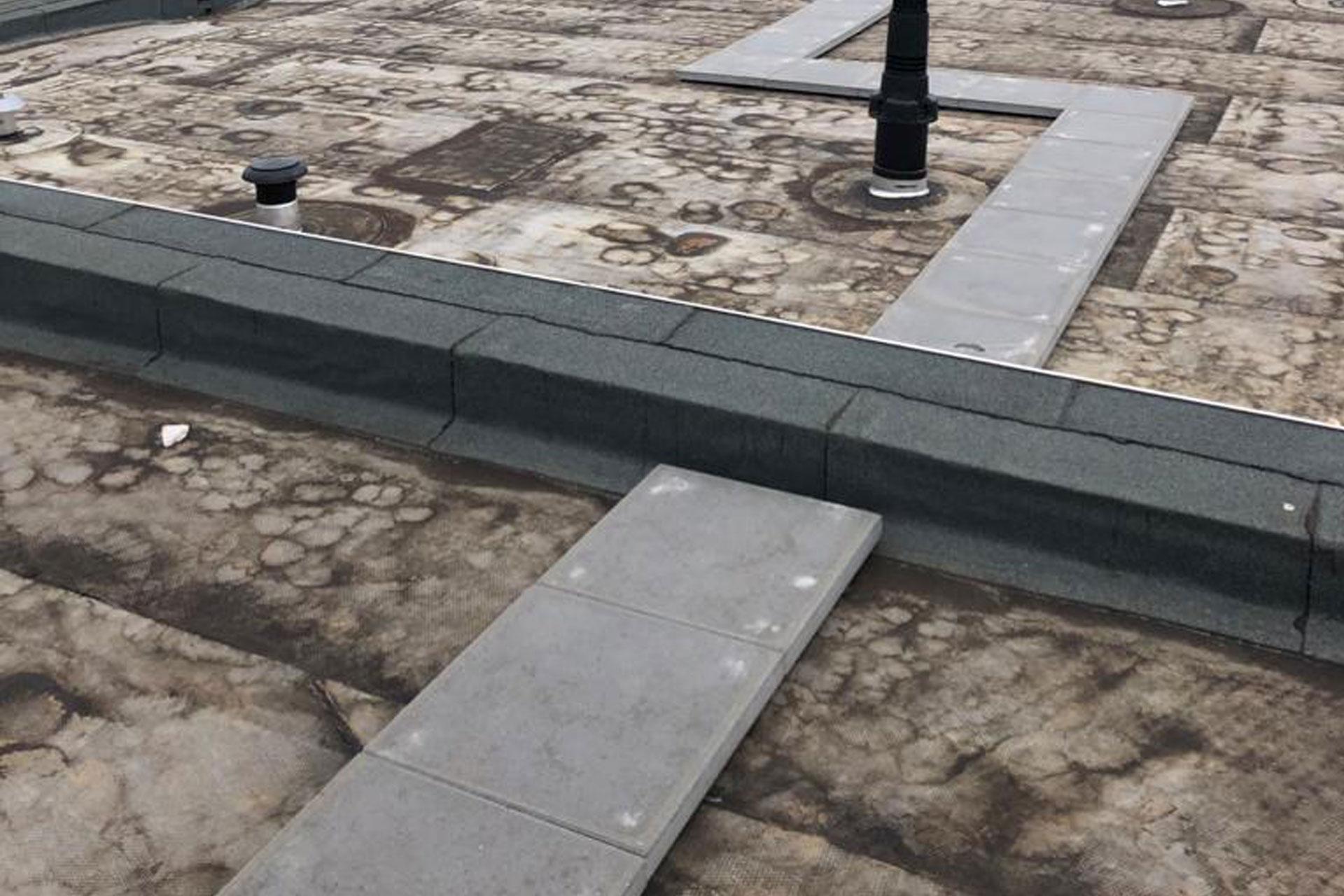 Bitumen dak zorgcentrum Tiel